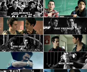 scott, teen wolf, and stiles image