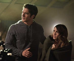 teen wolf, malia, and scott mccall image