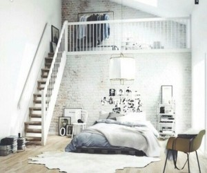bedroom, grey, and cute image
