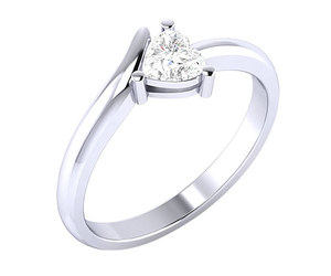 silver ring, rings for girls, and ring for women image