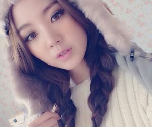 asian girl, beautiful, and korean image