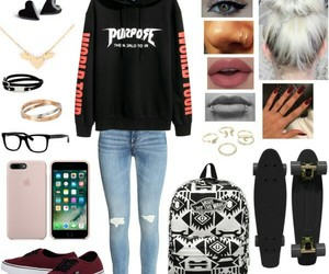 fashion, moda, and Polyvore image