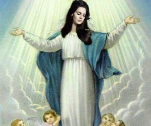 lana del rey, god, and angel image