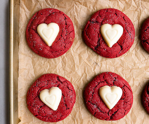 Cookies, white chocolate, and red velvet image