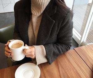 basic, beige, and coat image