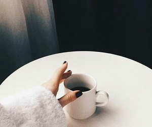black, coffee, and could image