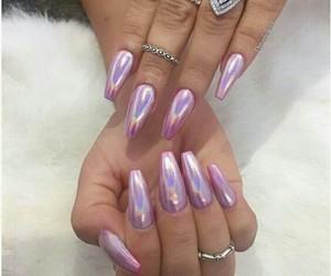 chic, colors, and nail art image