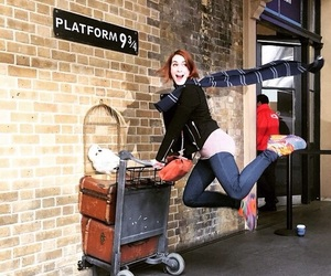 Felicia Day, harry potter, and supernatural image