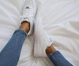 shoes, nike, and jeans image