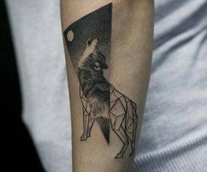 arm, ideas, and wolf image