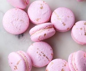 food, sweets, and macarons image