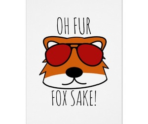 fox, funny, and puns image
