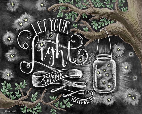 chalk art, etsy, and fireflies image
