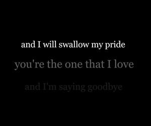 depression, goodbye, and Lyrics image