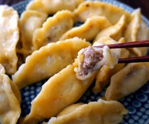 asian, dumpling, and food image