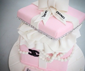 chanel, pink, and party image