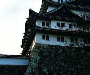 castle, japan, and photography image