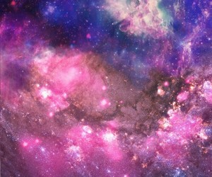 galaxy, outer space, and universe image