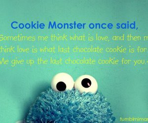 amazing, blue, and cookie monster image