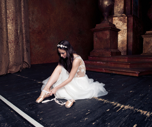 dress, ballet, and lace image