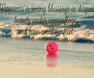 beauty, contentment, and blessings image