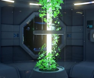 space, green, and nature image