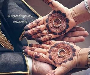 arabs, bride, and groom image