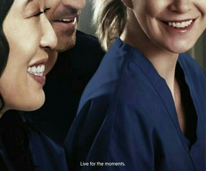 grey's anatomy, meredith grey, and cristina yang image