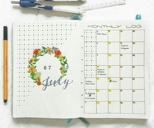 organization and bullet journal image