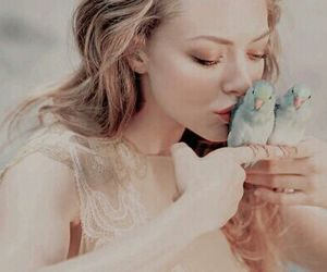 bird and blonde image