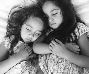 sisters, girl, and twins image