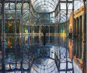 madrid, architecture, and art image