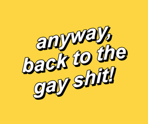 yellow, aesthetic, and gay image