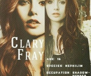 clary fray, the mortal instruments, and city of bones image
