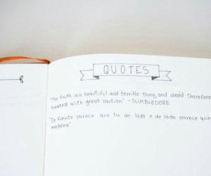 quotes and bullet journal image