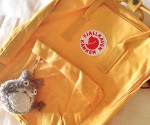 aesthetic, fjallraven kanken, and cute image