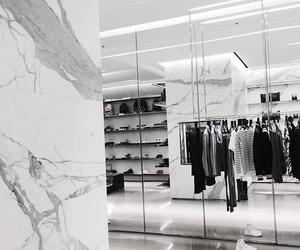 clothes, white, and marble image