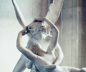 angel, love, and sculpture image