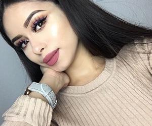 beautiful, lady, and style image