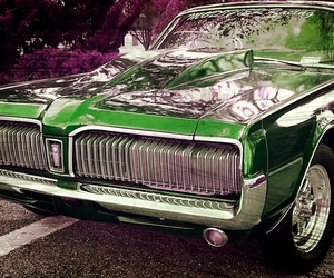 green, hotrod, and muscle car image