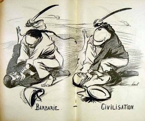 political cartoon, social commentary, and 1889 image