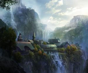 rivendell and fantasy image