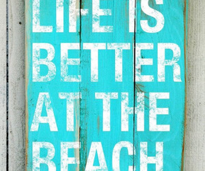 beach, quotes, and life image