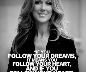 quote, black, and celine dion image
