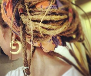 dreads, dreadlocks, and hippie image