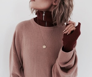 fashion, indie, and sweater image