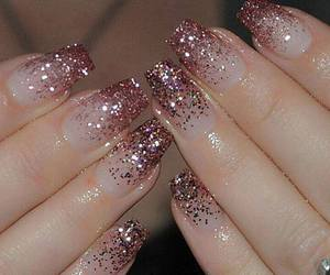 bling, nails, and style image