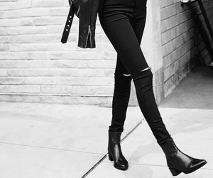 black, fashion, and girl image