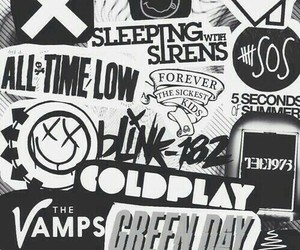 music, pop punk, and bands image