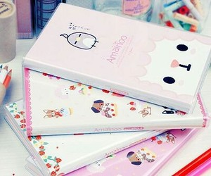 cute, book, and kawaii image